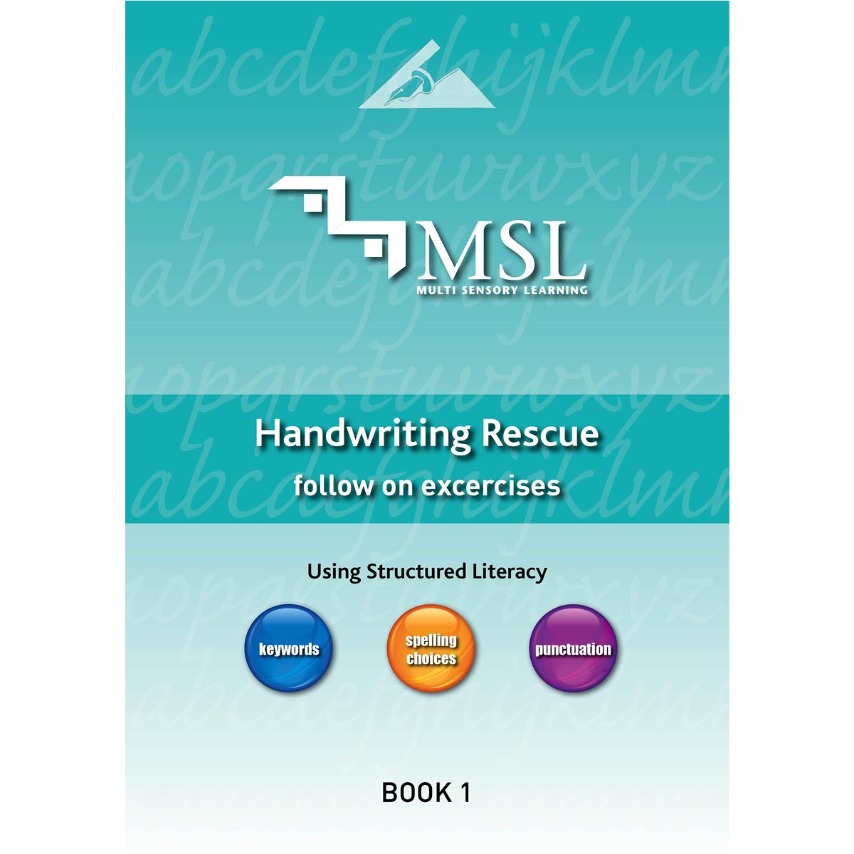 Handwriting Follow On Book 1